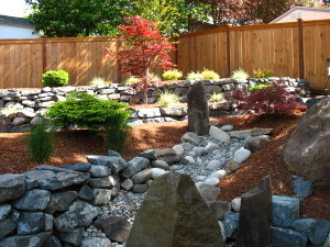 Stone Walls and Rockeries