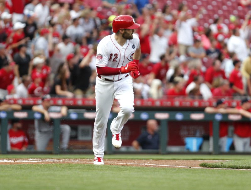 MLB: Washington Nationals at Cincinnati Reds