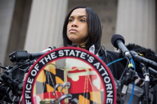 BALTIMORE, MD - MAY 01: Baltimore City State's Attorney Marilyn J. Mosby is shown on May 1, 2015 in Baltimore, Maryland.