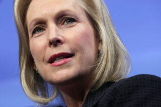 WASHINGTON, DC - AUGUST 19: Democratic presidential candidate U.S. Sen. Kirsten Gillibrand (D-NY) speaks during a Washington Post Live 2020 Candidates series event August 19, 2019 in Washington, DC. Gillibrand discussed her view on various topics including gender and race issues, gun control, healthcare, and immigration. (Photo by Alex Wong/Getty Images)