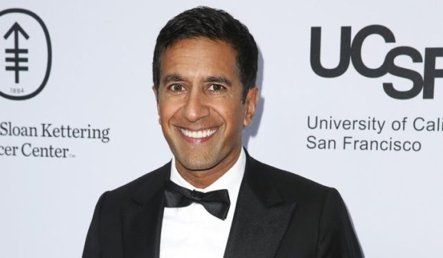 Sanjay Gupta arrives at Sean Parker and the Parker Foundation's Gala Celebrating a Milestone in Medical Research in Los Angeles. on April 13, 2016. (Photo by Rich Fury/Invision/AP, File)