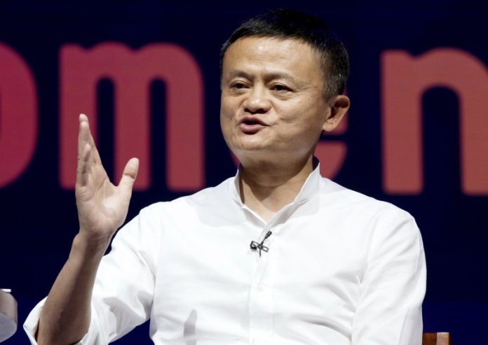 Chairman of Alibaba Group Jack Ma speaks during a seminar in Bali, Indonesia. China's highest-profile entrepreneur, e-commerce billionaire Jack Ma, appeared Wednesday, Jan. 20, 2021, in a video posted online, ending a 2 1/2-month disappearance from public view that prompted speculation about his status and his business empire's future. (AP Photo/Firdia Lisnawati, File)