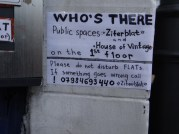 Klingel - Doorbell Ziferblat London(c) Daniel Zylbersztajn