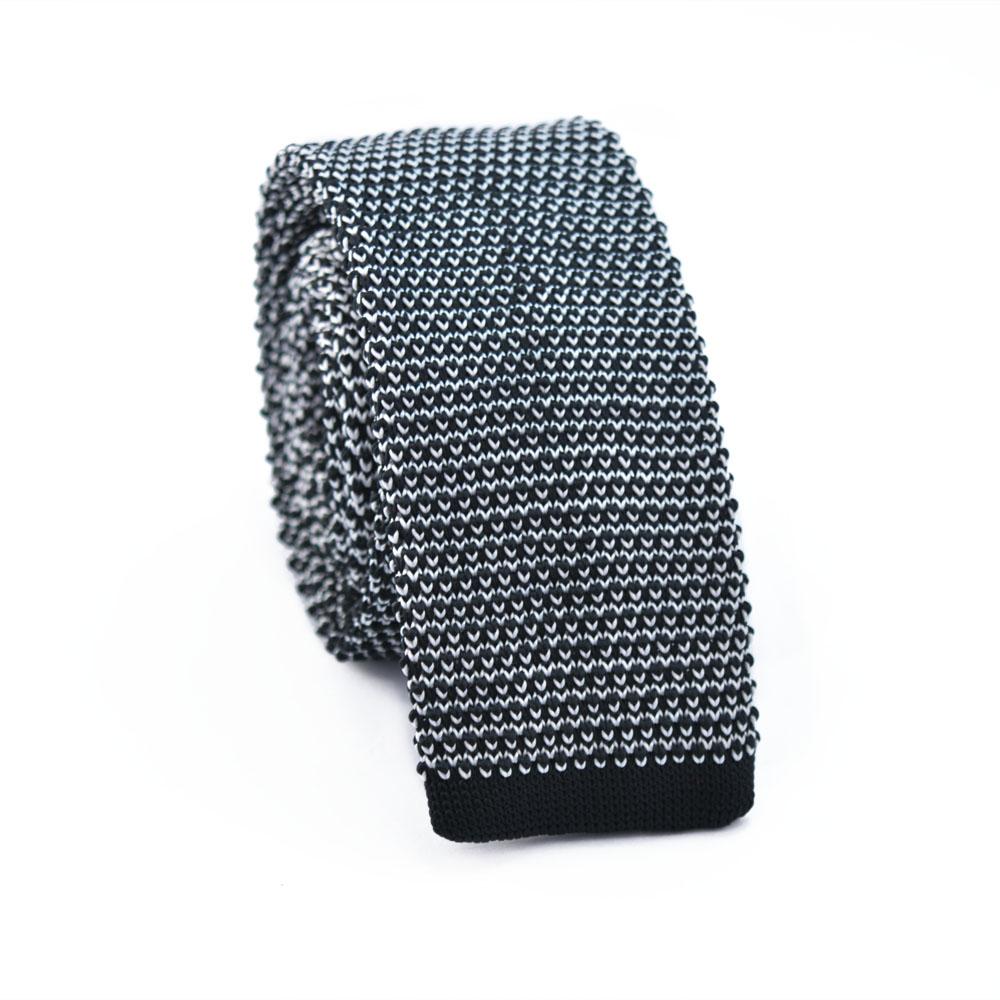 Πλεκτή Γραβάτα Parfait Black