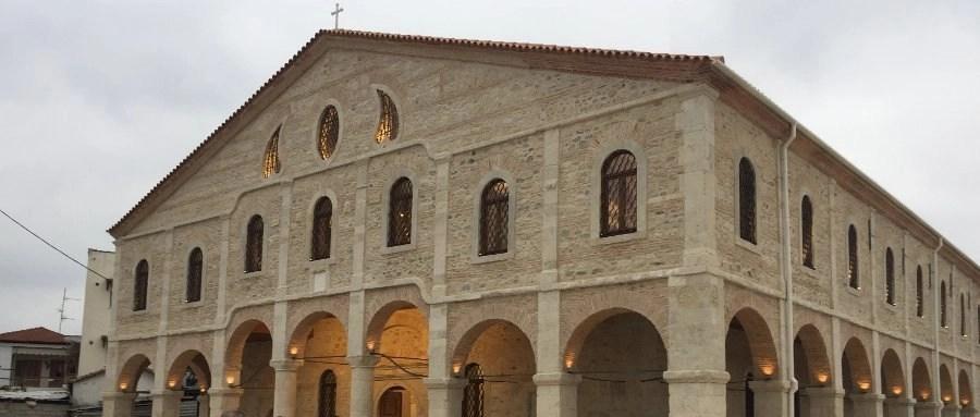 Θυρανοίξια στον ιστορικό Ναό Αγίου Γεωργίου Γουμένισσας