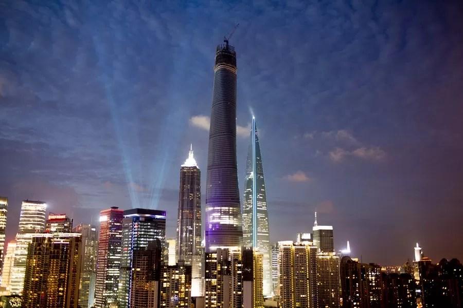 Shanghai Tower: Skyscraper China