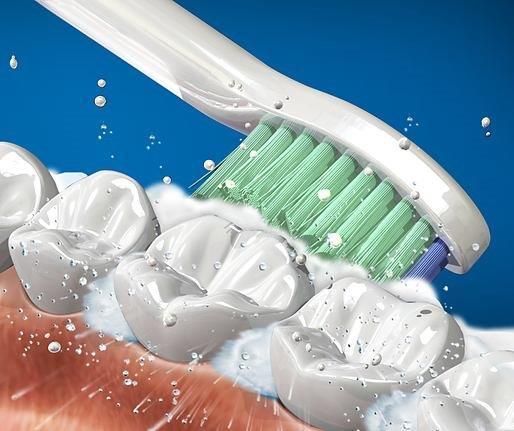 oczyszczanie zębów