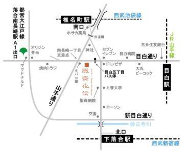 シアター風姿花伝-地図
