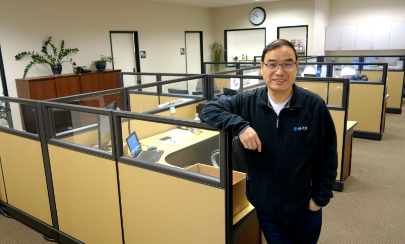 President George Wang in our Beaverton, Oregon, USA headquarters office.