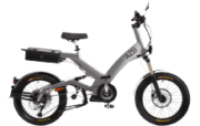 A2B Octave Urbanbike (20 Zoll, Y-frame, 475 Wh, Silber)