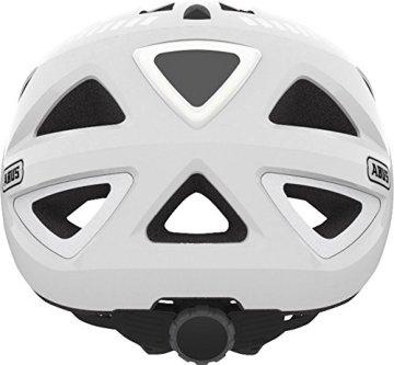 ABUS Fahrradhelm Urban-I V.2, White, L (55 - 61 ),13690 -
