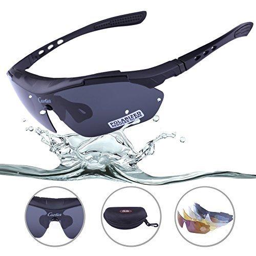 Carfia Multi Tr90 Uv 400 Outdoor Sport Brille Polarisiert Sonnenbrille Radbrille DVbF5
