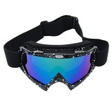 Coface PU UV400 windundurchlässige Kratzfeste Fahrrad Wrap Schutzbrillen Skirennen Schutzbrille für Motocross ATV Fahrräder -