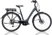 Cube Touring Hybrid 400 grey´n´flashred 2017 Easy Entry 50 cm