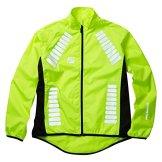 Elite Cycling Project Cyclone Wasserdichte Radjacke für Herren Hi Viz XL -