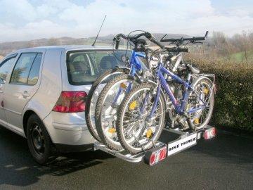 EUFAB 11412 Fahrradträger BIKE THREE -