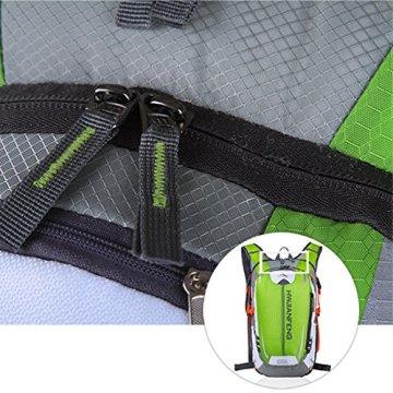 Fahrradrucksack, iTECHOR Unisex Nylon Wasserdichte Ultraleicht Fahrradrucksack Wanderrucksack Trekkingrucksack -