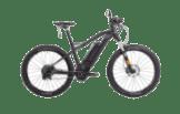HNF Heisenberg XD1 TRAIL S/M Mountainbike (27.5 Zoll, 43.5 cm, MTB Hardtail, 500 Wh, Schwarz Matt)