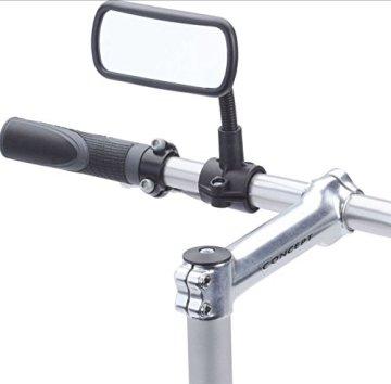 KRS - SPF - Schwanenhals Fahrradspiegel Fahrrad Spiegel Rückspiegel Convex E Bike Toterwinkel -