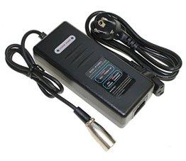 Ladegerät für Akku 36V 10,4Ah Lithium Ionen Ersatzbatterie Rahmenakku für E-Bike Pedelec Elektrofahrrad z.B. Prophete Real -