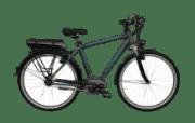 Nopeus Nexus 8 eTour Citybike (28 Zoll, 48 cm, Herren, 400 Wh, Grau)