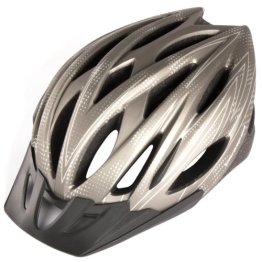 Ultrasport Jugendlichen Fahrradhelm Tours, Silber/Grau, 54 - 58 cm, 331400000046 -