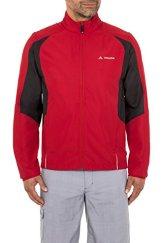 VAUDE Herren Jacke Dundee Classic Zip Off Jacket, Red, XL, 06811 -
