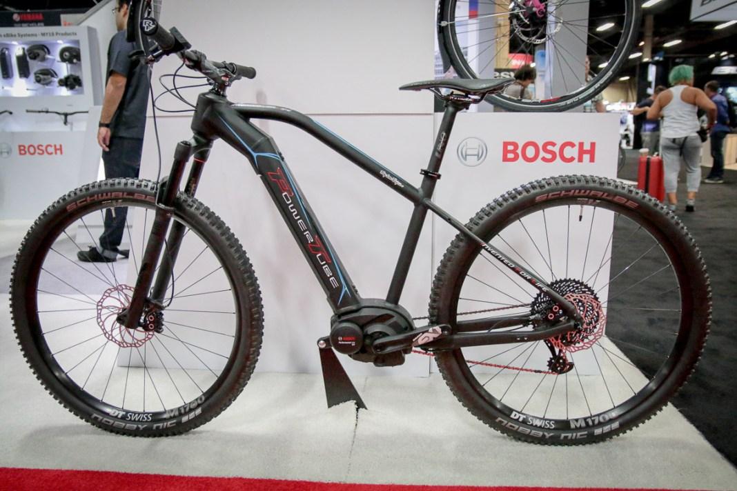 Bosch Powertube integrated downtube battery system for e-bikes