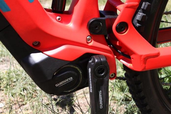 BMC Speedfox AMP Two, Shimano XT E-8000 motor