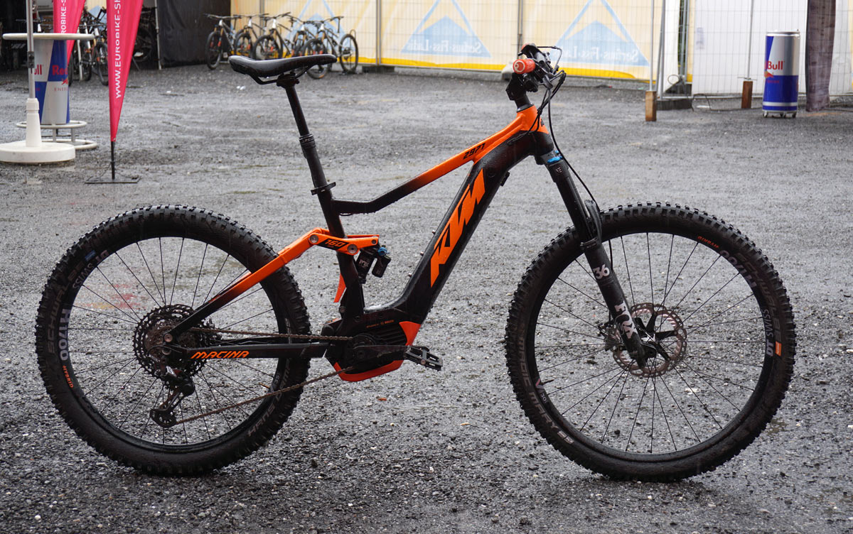 Specialized Turbo Electric Bike >> EB18: KTM Macina line adds road, city, trail & moto-style enduro MTB e-bikes - e-Bikerumor
