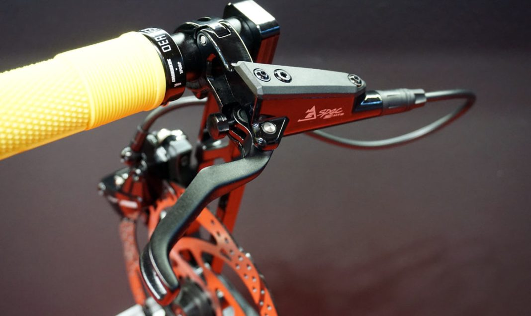 2019 TRP G-Spec eMTB hydraulic disc brakes for e-mountain bikes