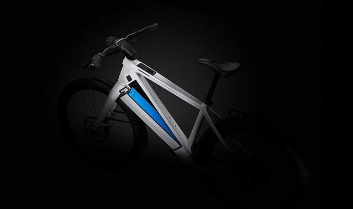 Stromer ST3, keyless battery eject