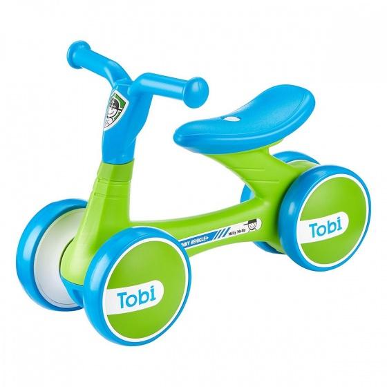 Milly Mally Loopfiets Tobi Junior Groen/Blauw