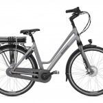 Popal E-Volution 8.3 28 Inch 50 cm Dames 8V Rollerbrake Zilvergrijs