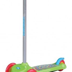 Schildkröt Funsports 3-wiel kinderstep Junior Voetrem Groen
