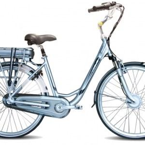 Vogue Basic 28 Inch 49 cm Dames 3V Rollerbrake Zilver