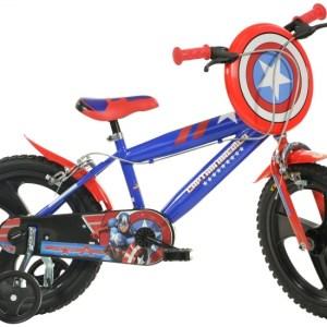 Dino 414UL-CA Captain America 14 Inch 24 cm Jongens Knijprem Blauw
