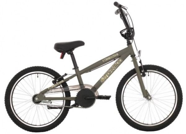 Tornado BMX fiets 16 Inch 37 cm Junior Terugtraprem Kaki