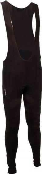 Avento Fietsbroek met bovenstuk lang zwart maat S