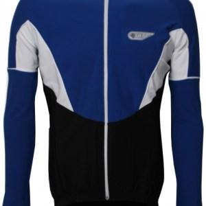 Bonfanti fietsjack LM SuperRoubaix heren blauw maat S