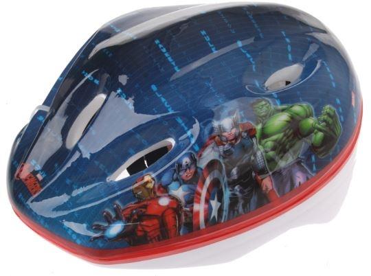 Dino Kinderhelm Avengers 52 tot 56 cm blauw