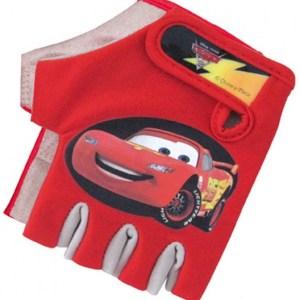 Disney fietshandschoenen Cars jongens rood maat 7