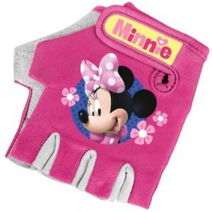 Disney fietshandschoenen Minnie Mouse meisjes roze one size