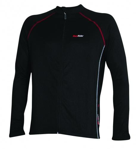 FastRider Shirt One Lange Mouw Zwart Maat S