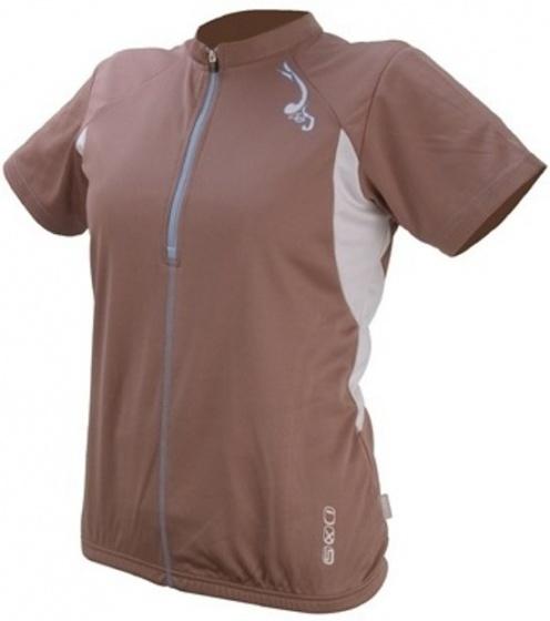 IXS Fietsshirt Aurora Basic dames bruin maat XXL