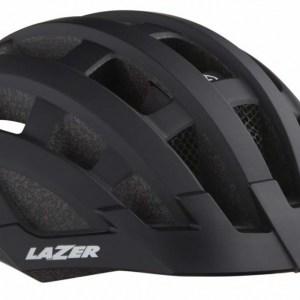 Lazer fietshelm Compact Deluxe unisex zwart maat 54-61 cm
