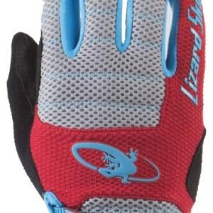 Lizard Skins fietshandschoenen Monitor AM rood/grijs mt 9