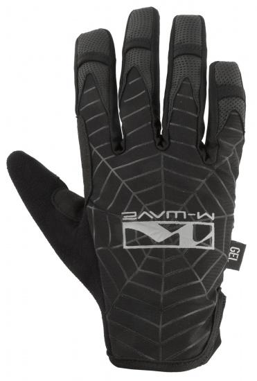 M-Wave Fietshandschoenen Spiderweb Zwart Maat 10