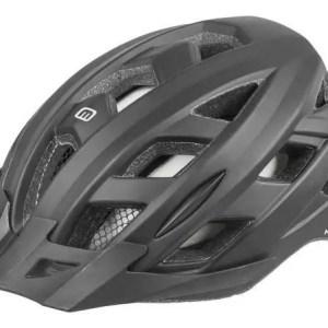 Mighty helm unisex zwart maat 52-58 cm