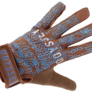 Odyssey Y531xsml Handschoenen bruin/blauw unisex maat XS
